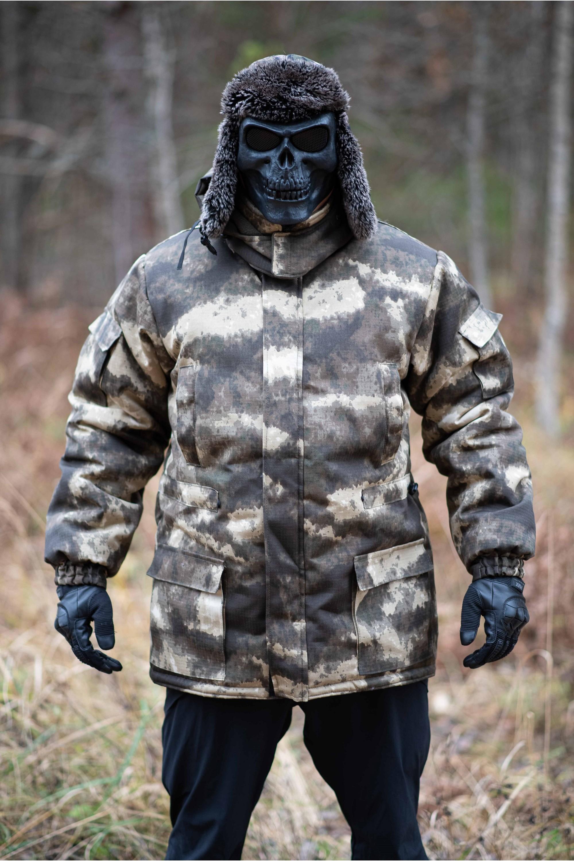 """Куртка Vulcan """"Серый Мох2"""" Рип-стоп"""
